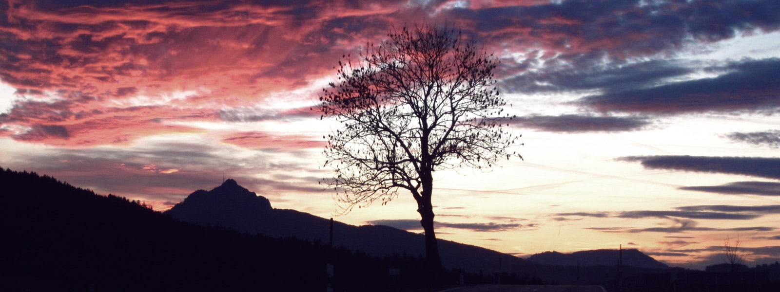 Allgäu Sonnenuntergang